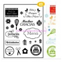 Artemio Selllo Clear Stamps Spaans