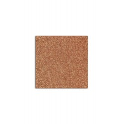 Glitter papel adhesivo color oro oscuro, Mahé 30x30