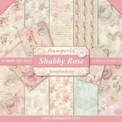 Shabby Rose bloc 10 hj doble cara
