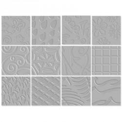 Set de 6 Placas de Texturas II